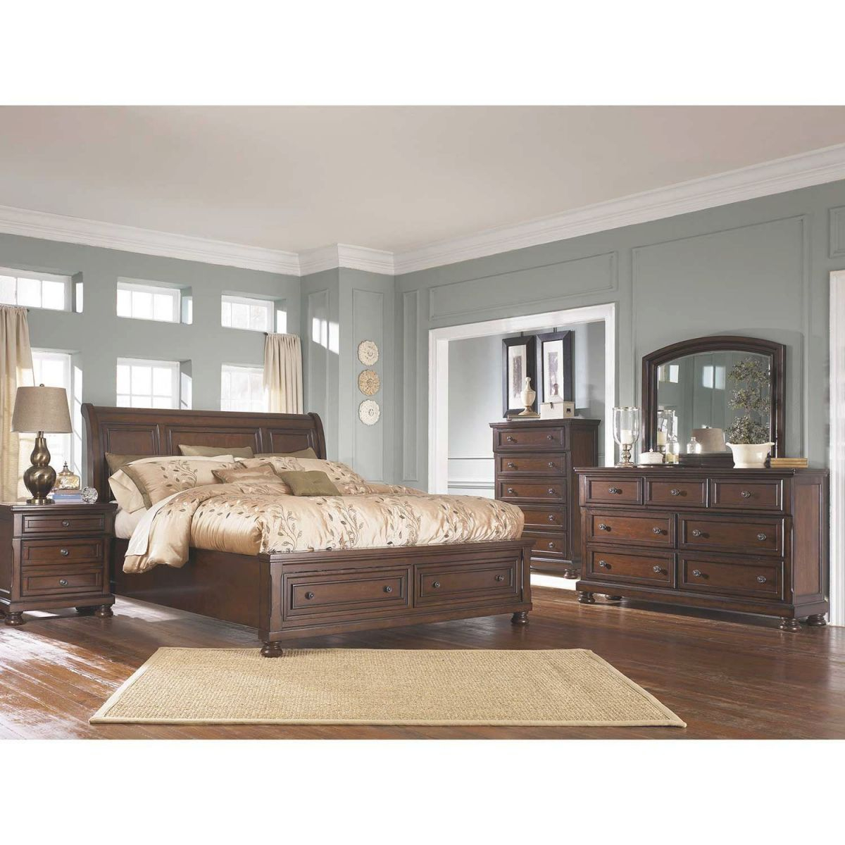 Porter 5 Piece Bedroom Set inside Elegant Furniture Bedroom Set