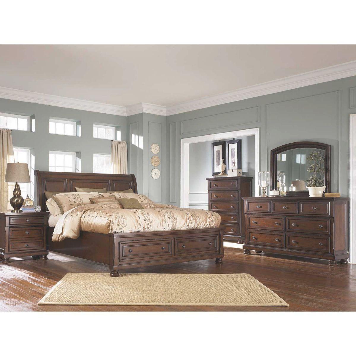 Porter 5 Piece Bedroom Set regarding Ashley Furniture Porter Bedroom Set