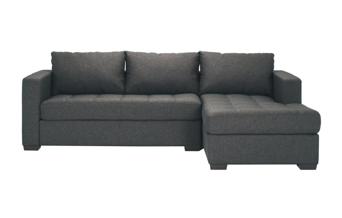 Porter Fabric 2-Piece Sectional Sofa With Chaise pertaining to Elegant 2 Piece Sectional With Chaise