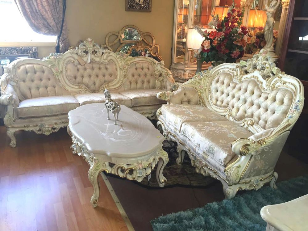 Provincial Sofas - French Provincial Sofa throughout New French Provincial Living Room Furniture