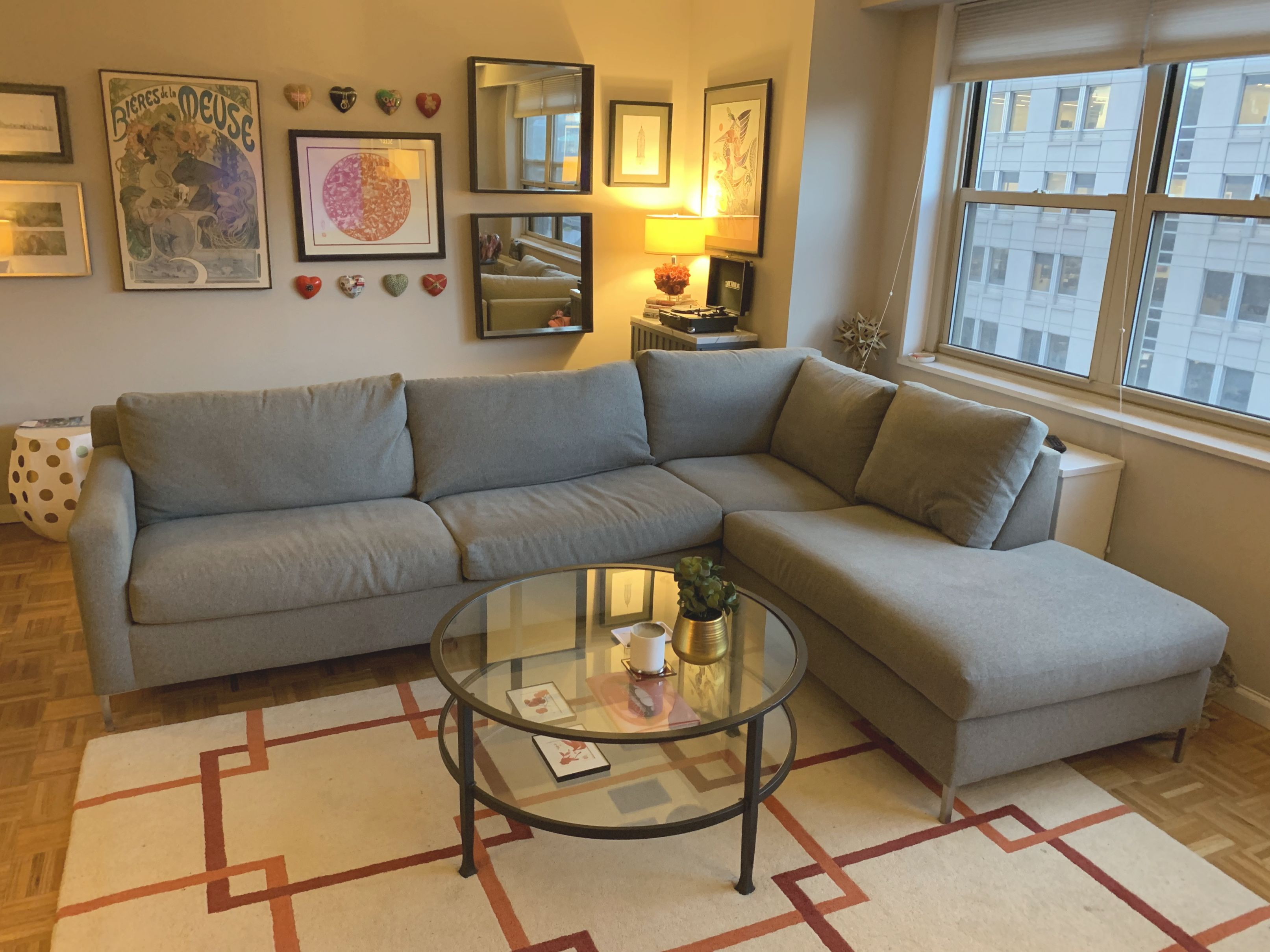 Raymour & Flanigan Sleeper Sofa With Chaise – Aptdeco within Raymour And Flanigan Sleeper Sofa