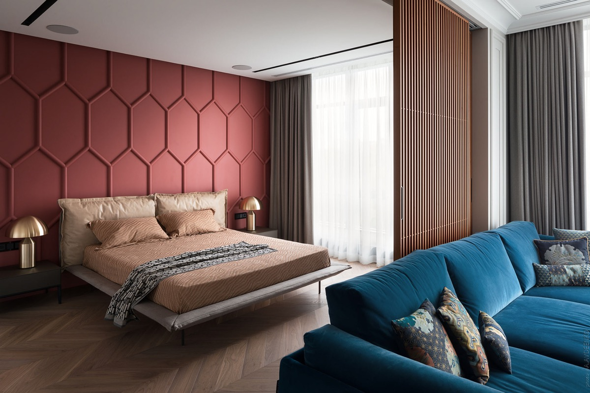 red-and-brown-bedroom