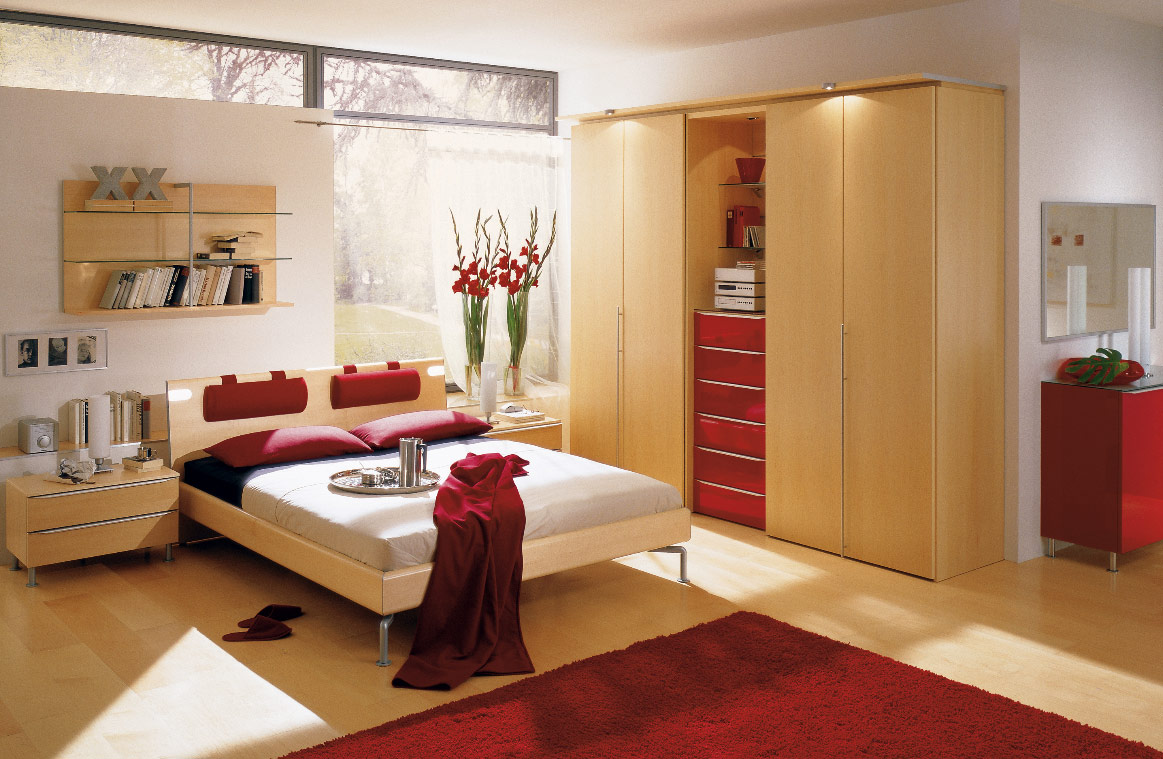 red-white-and-wood-bedroom