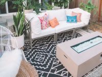 Refresh Your Outdoor Living Space With The Home Depot within Unique Outdoor Living Room Furniture