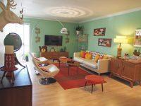 Retro Living Room Decor Dgmagnets – Decoratorist – #121379 throughout Fresh Retro Living Room Decor