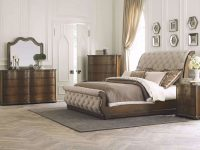 Rhapsody Queen Bed intended for Rustic Bedroom Furniture Sets