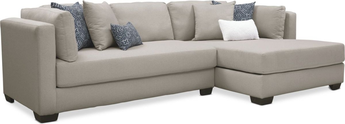 Rosalyn 2-Piece Sectional With Chaise for 2 Piece Sectional With Chaise