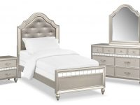 Serena Youth 6-Piece Bedroom Set With Nightstand, Dresser And Mirror with regard to Luxury Twin Bedroom Furniture Set