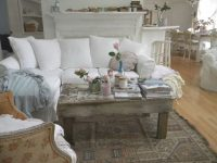Shabby Chic Living Room Interior Design — Living Room with Awesome Shabby Chic Living Room Furniture