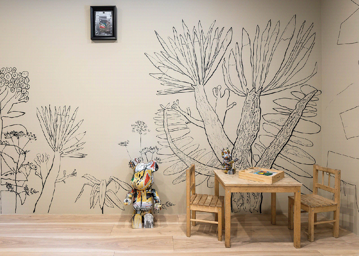 sketched-wall-mural