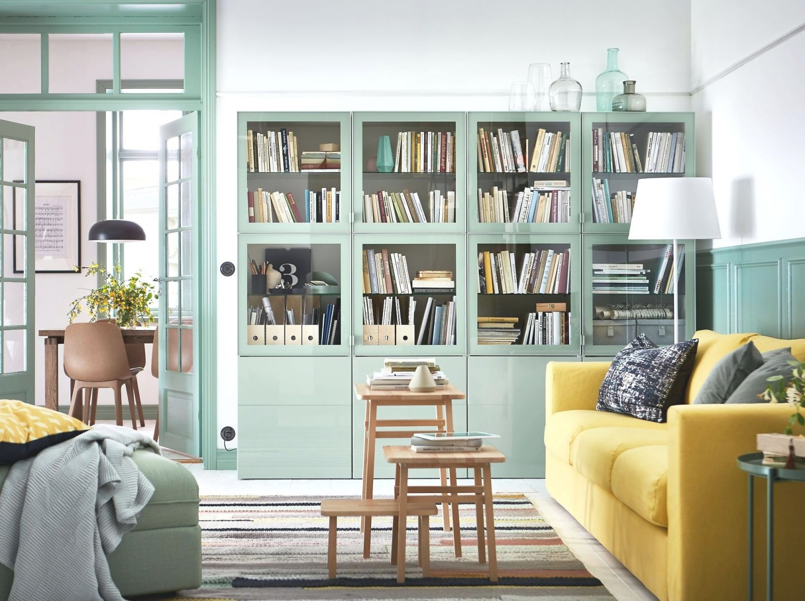 Small Living Room Layout Ideas From Ikea | Apartment Therapy in Best of Ikea Wall Cabinets Living Room