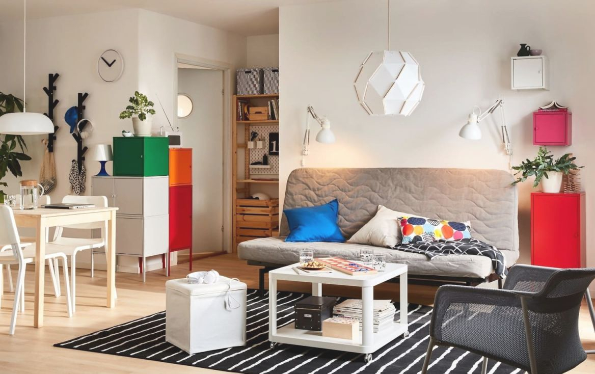 Small Living Room Layout Ideas From Ikea | Apartment Therapy pertaining to Ikea Wall Cabinets Living Room