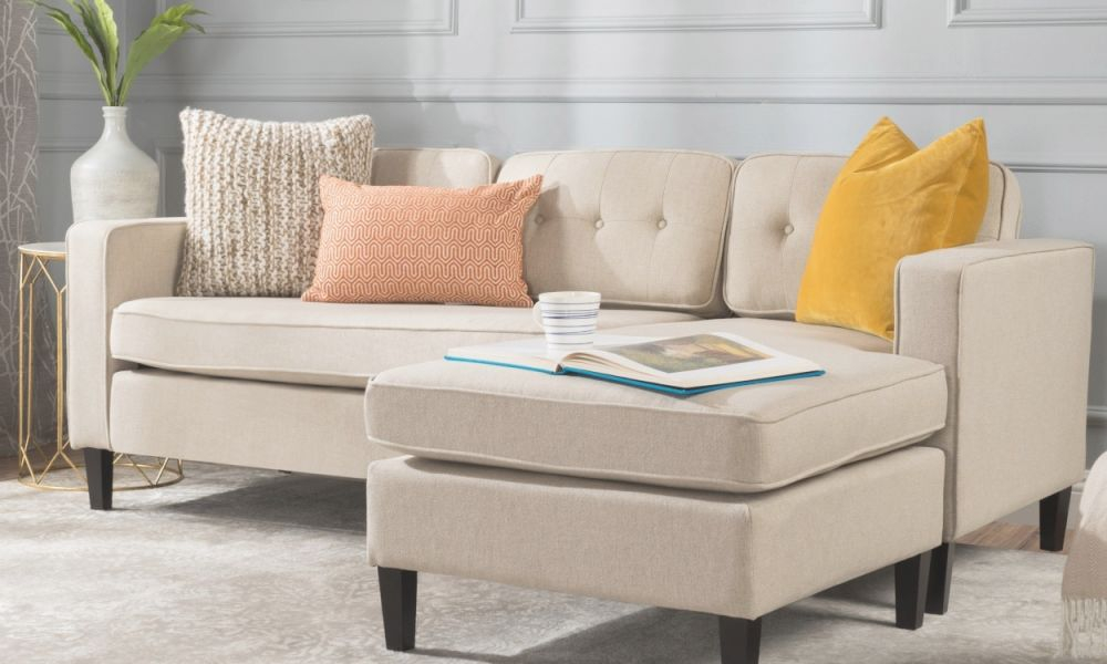 Small Sectional Sofas & Couches For Small Spaces   Overstock pertaining to Furniture For Small Spaces Living Room