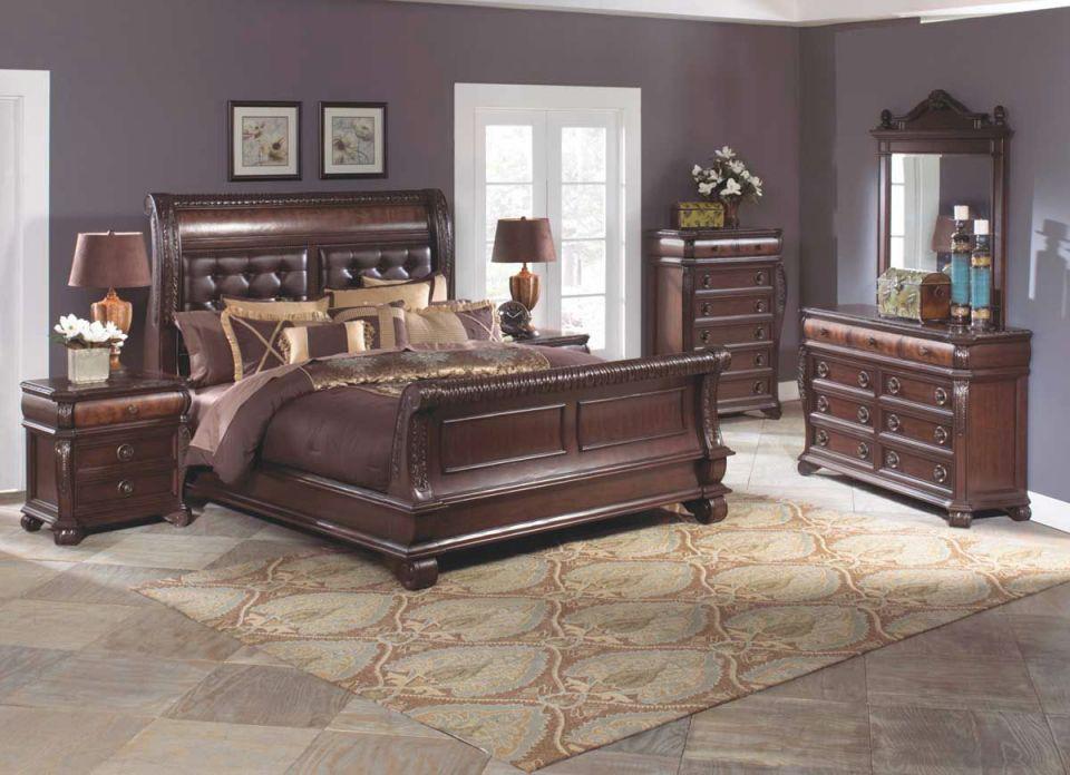 Sophia 5 Piece King Bedroom Set in Bedroom Sets King