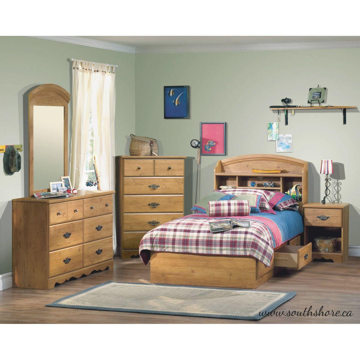 South Shore Prairie Bedroom Furniture Collection – Walmart regarding Lovely Boys Bedroom Furniture Sets