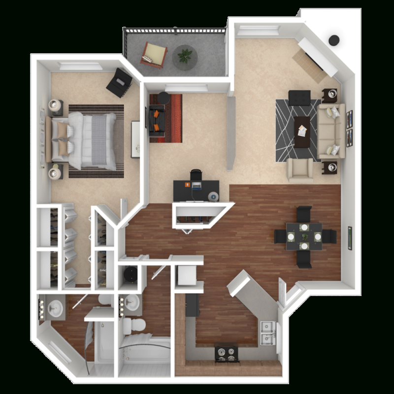 Spacious 1, 2 & 3 Bedroom Apartments & Townhomes In for Luxury Three Bedroom Apartment