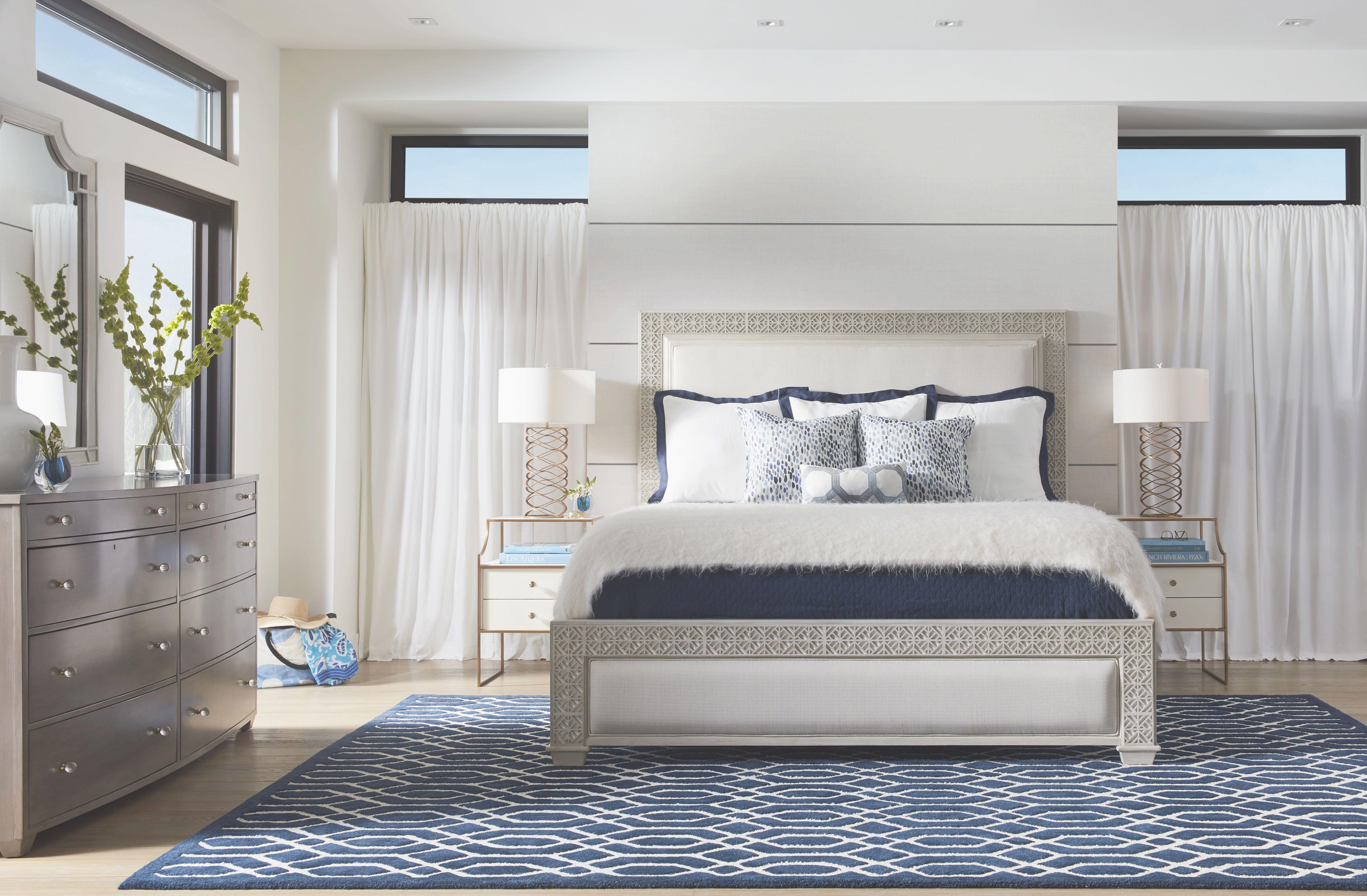 Stanley Furniture Coastal Living Oasis Collection Panel Bed regarding Lovely Coastal Bedroom Furniture Sets