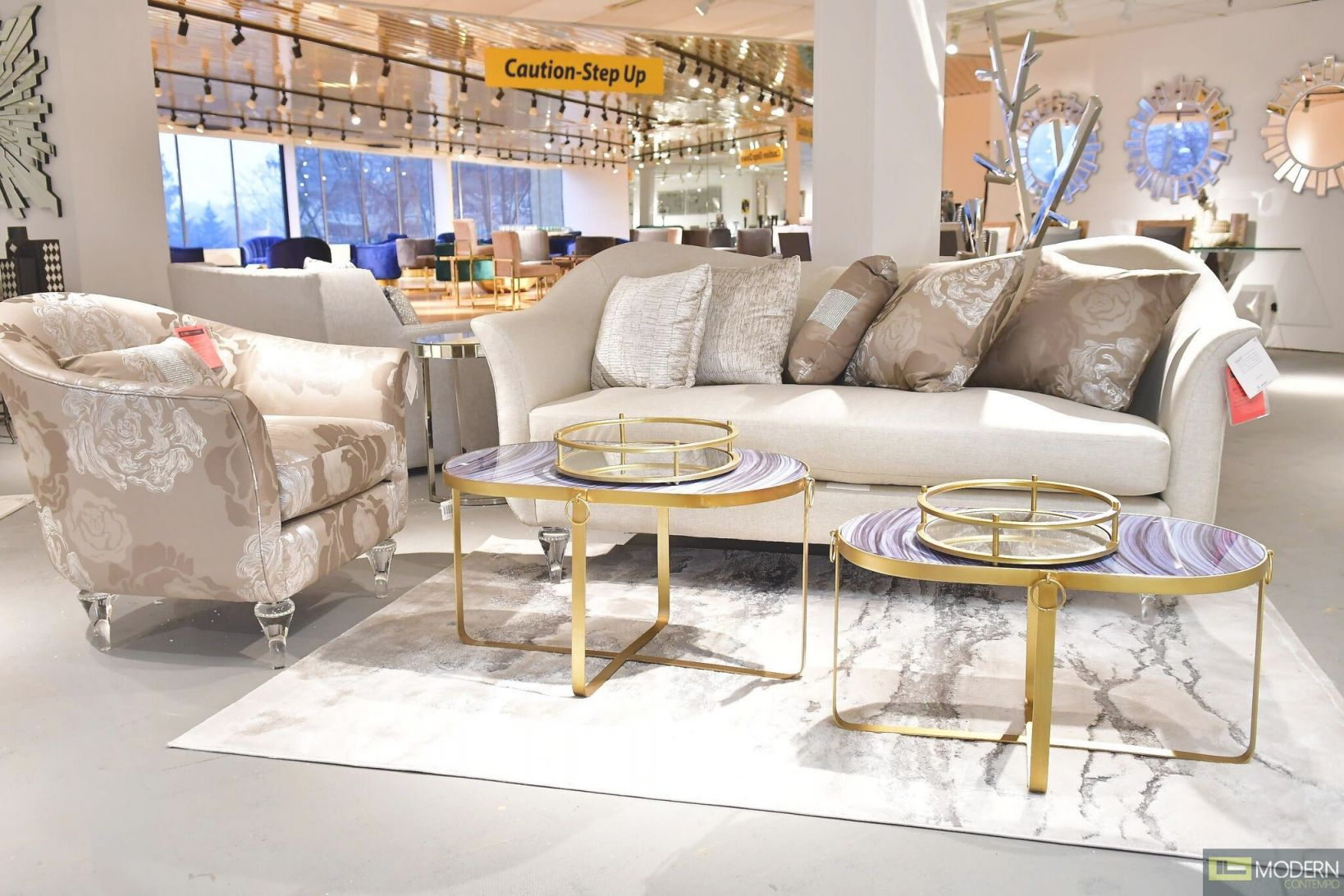 Studio Rodeo Beige Living Room Setmichael Amini with Michael Amini Living Room Furniture