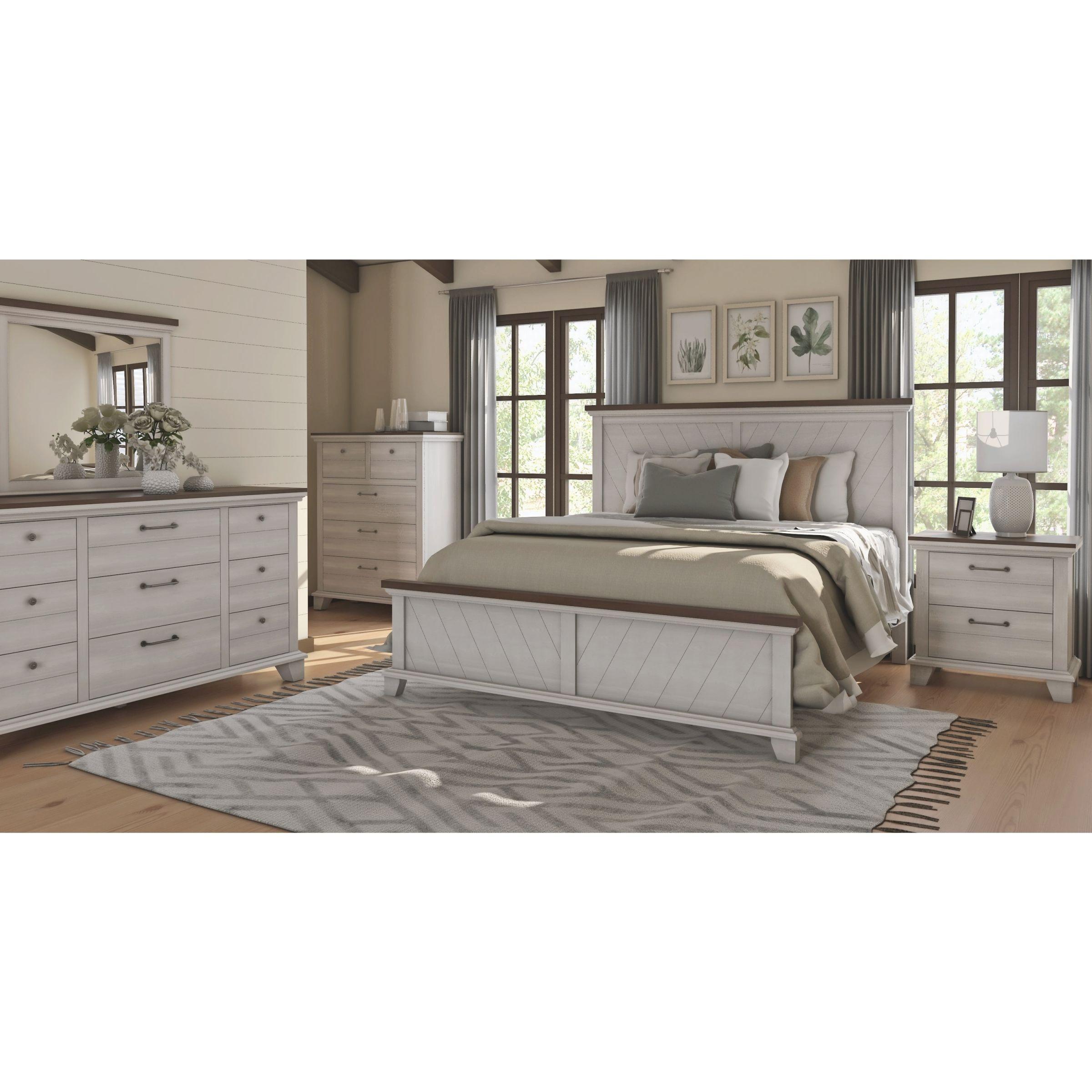 The Gray Barn Overlook Rustic 5-Piece Bedroom Set regarding Unique Rustic Bedroom Furniture Sets