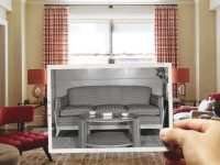 The Heirloom Challenge: Working Inherited Furniture Into throughout New 1940 Living Room Decor