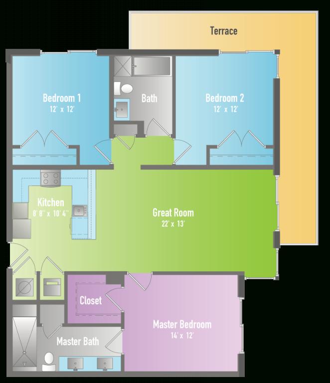 Three Bedroom Apartments In Miami – Lavida Apartments At with regard to Three Bedroom Apartment