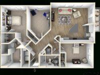 Three Bedroom Apartments Pembroke Pines Ventura Pointe regarding Luxury Three Bedroom Apartment