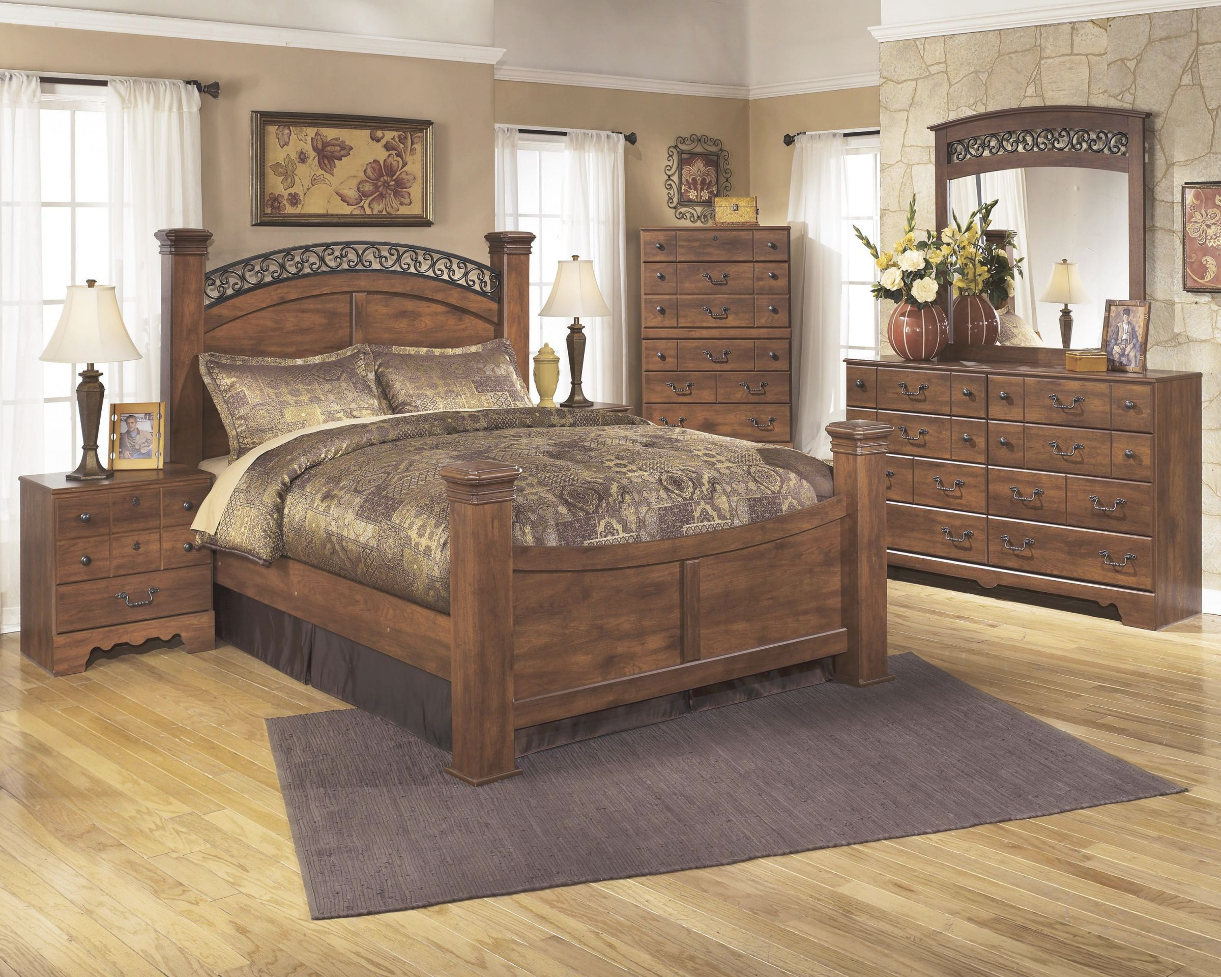 Timberline Queen Bedroom Group 4Pc Setdel Sol As At Del Sol Furniture inside Awesome Cheap Queen Bedroom Furniture Sets