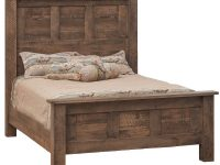 Tooth & Timber Amish Bed throughout Rustic Bedroom Furniture Sets