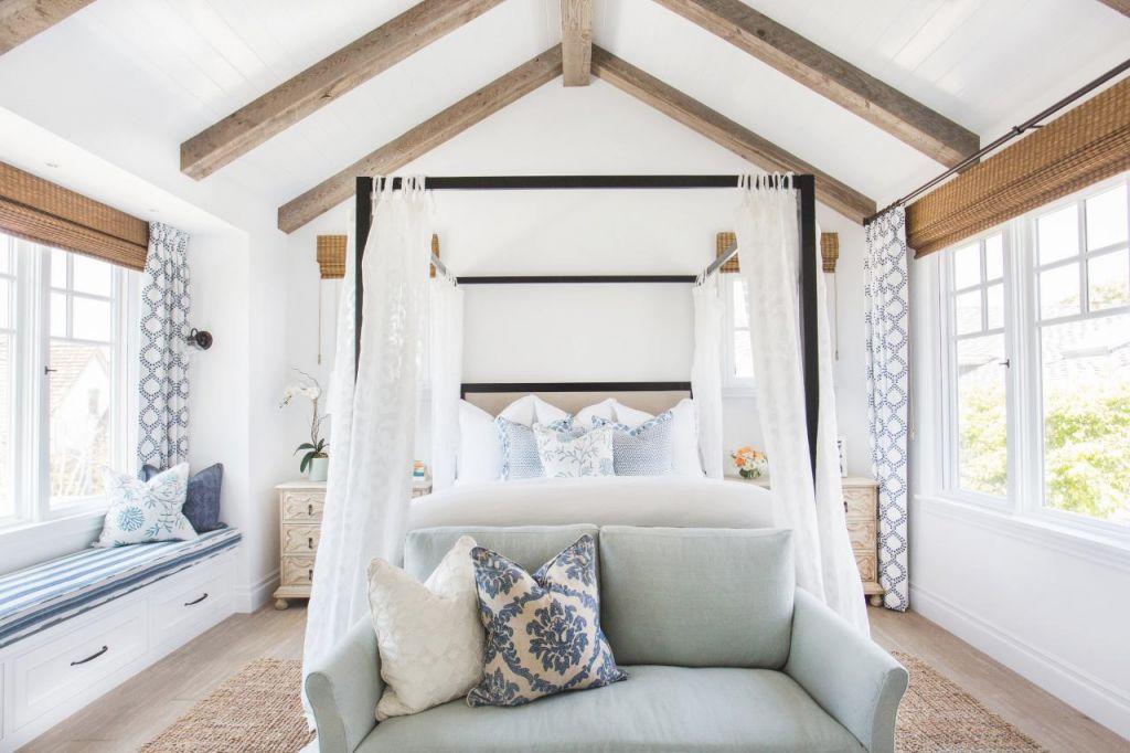 Tour This Breezy Coastal Master Suite | Hgtv's Decorating with Coastal Bedroom Furniture Sets