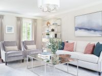 Transitional Living Room, Dining Room, & Entry: Colts Neck with Transitional Living Room Furniture