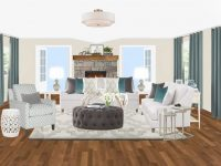 Transitional Living Room Interior Design Package intended for Transitional Living Room Furniture