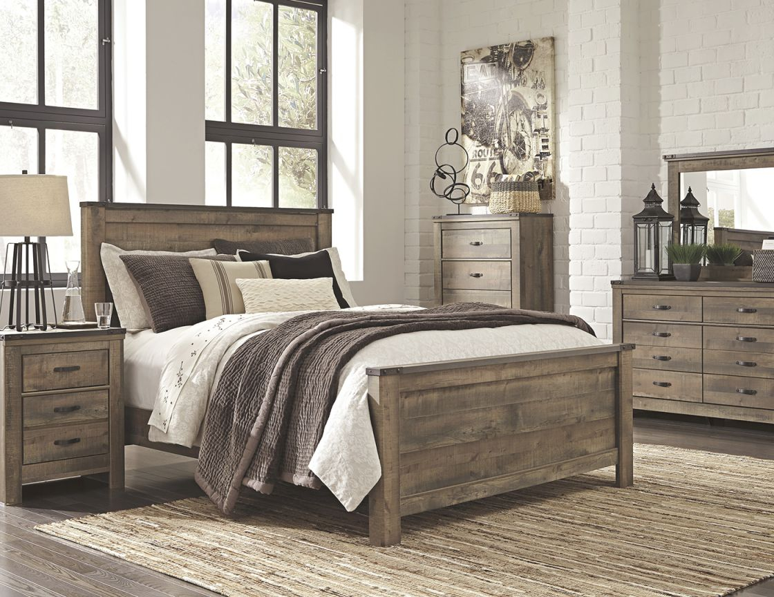 Trinell 5-Pc. King Bedroom Set with Bedroom Sets King