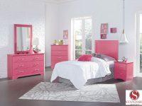True Love Pink Bedroom Collection | Efw Bedroom Furniture within Elegant Pink Bedroom Furniture Sets