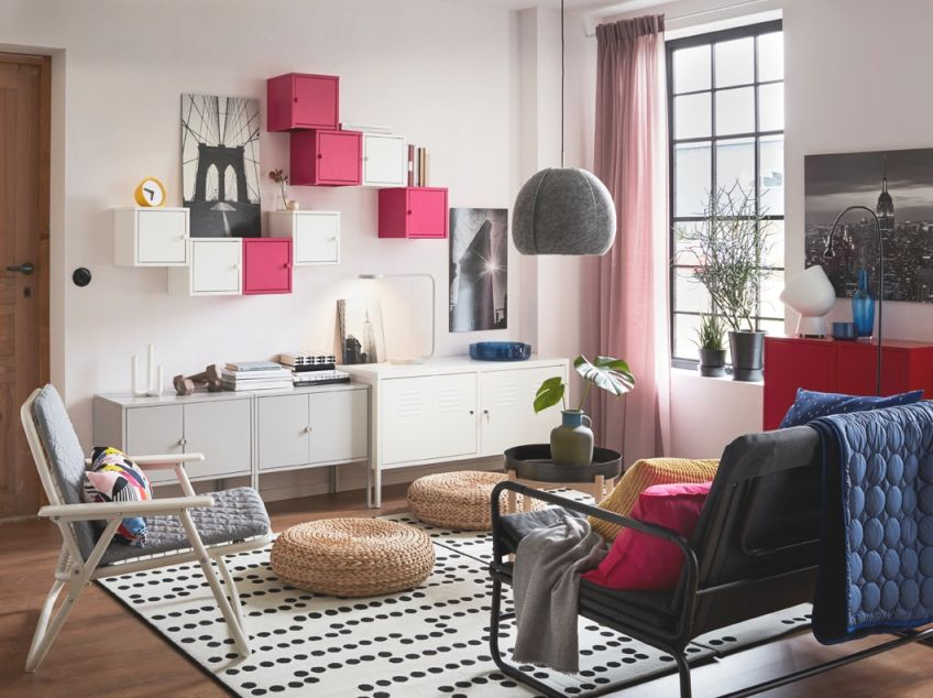 Turn Practical Cupboards Into A Feature – Ikea with regard to Ikea Wall Cabinets Living Room