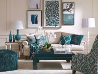 Turquoise Dining Room Ideas, Turquoise Rooms, Turquoise intended for Teal Living Room Furniture