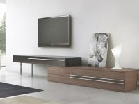 Unique Adjustable Lenght Three Drawer Tv Entertainment Unit inside Stylish Tv Unit