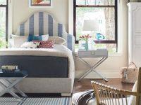 Universal Coastal Living Escape 4Pc Sagamore Hill Bedroom Set In Two Tone inside Lovely Coastal Bedroom Furniture Sets