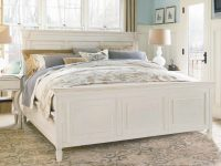 Universal Furniture Summer Hill 4Pc Panel Bedroom Set In Cotton Code:univ10 For 10% Off with Coastal Bedroom Furniture Sets