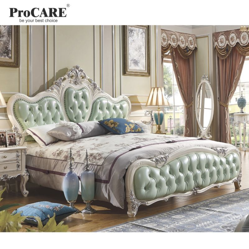 Us $3737.0 |Luxury Bedroom Furniture Sets,top Genuine Leather Headrest Modern Soft Bed, French Style Bed-In Bedroom Sets From Furniture On with New Modern Bedroom Furniture Sets
