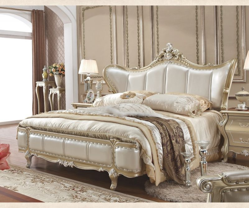 Us $899.0 |Luxury Antique Design King/queen Size Bedroom Furniture-In  Bedroom Sets From Furniture On Aliexpress | Alibaba Group with Queen Size Bedroom Furniture Sets