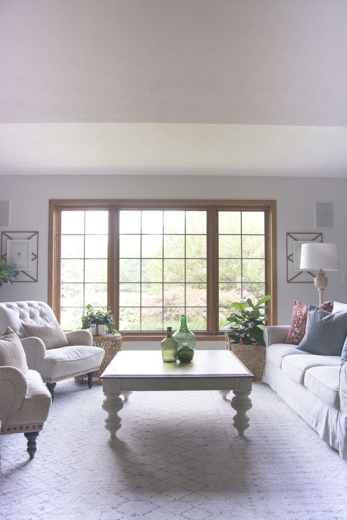 Vintage Farmhouse Decor | Living Room Update | Grace In My Space within Fresh Retro Living Room Decor