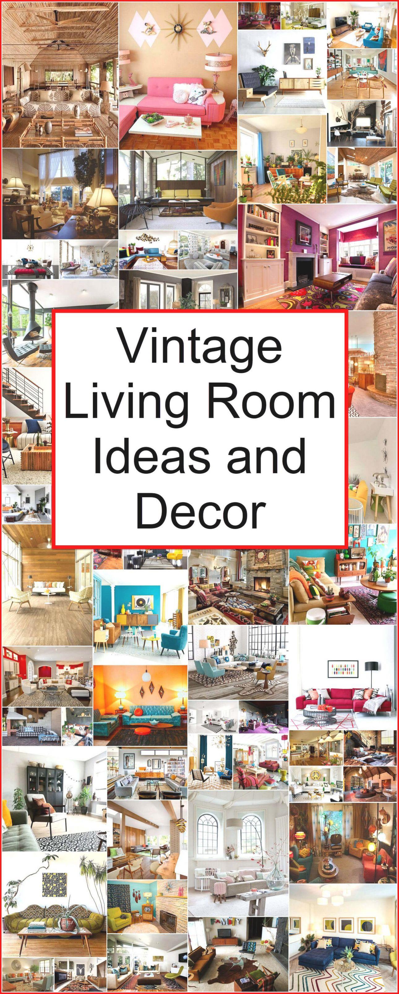 Vintage Living Room Ideas And Decor | Retro Vintage Style within Retro Living Room Decor