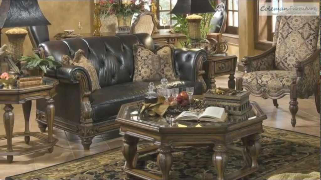 Vizcaya Living Room Collection From Aico Furniture for Michael Amini Living Room Furniture