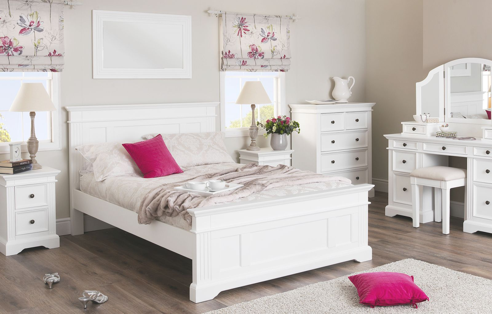 White Bedroom Furniture Vintage Decor Inside Beautiful Cheap