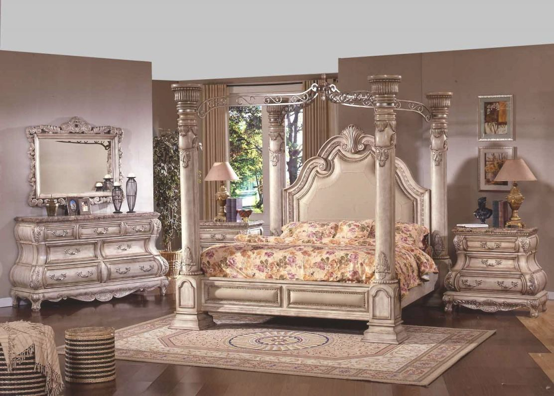 White Bedroom Furniture   White Wash Furniture   French intended for Awesome Cheap Queen Bedroom Furniture Sets