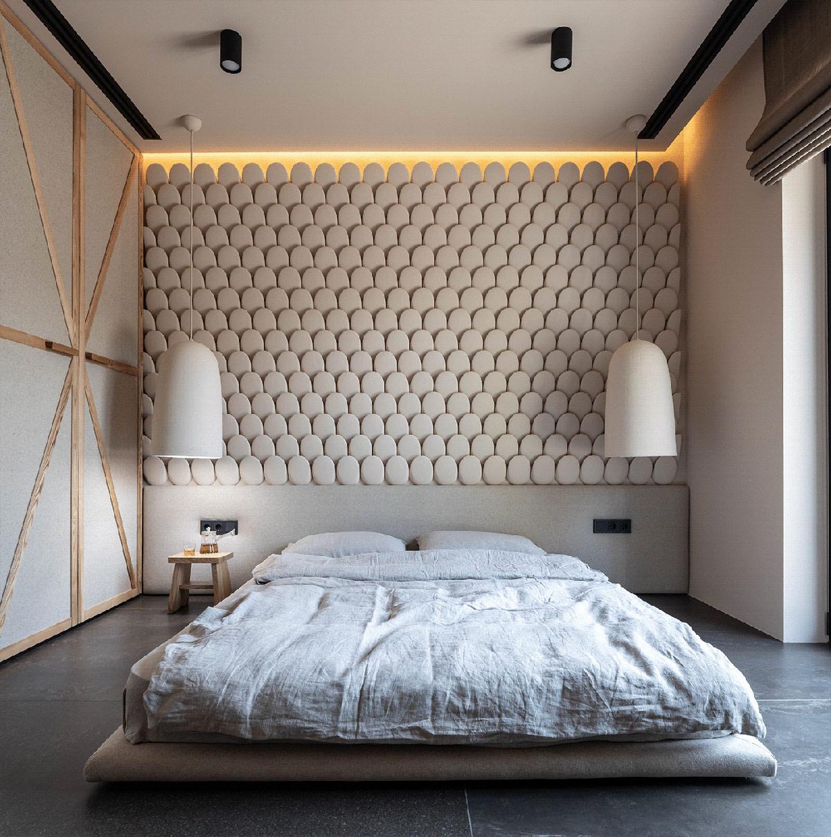 white-bedroom-pendant-lights
