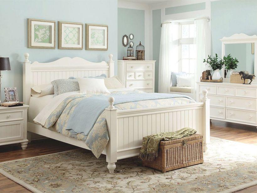 White Coastal Bedroom Set - House Of All Furniture : Best within Coastal Bedroom Furniture Sets
