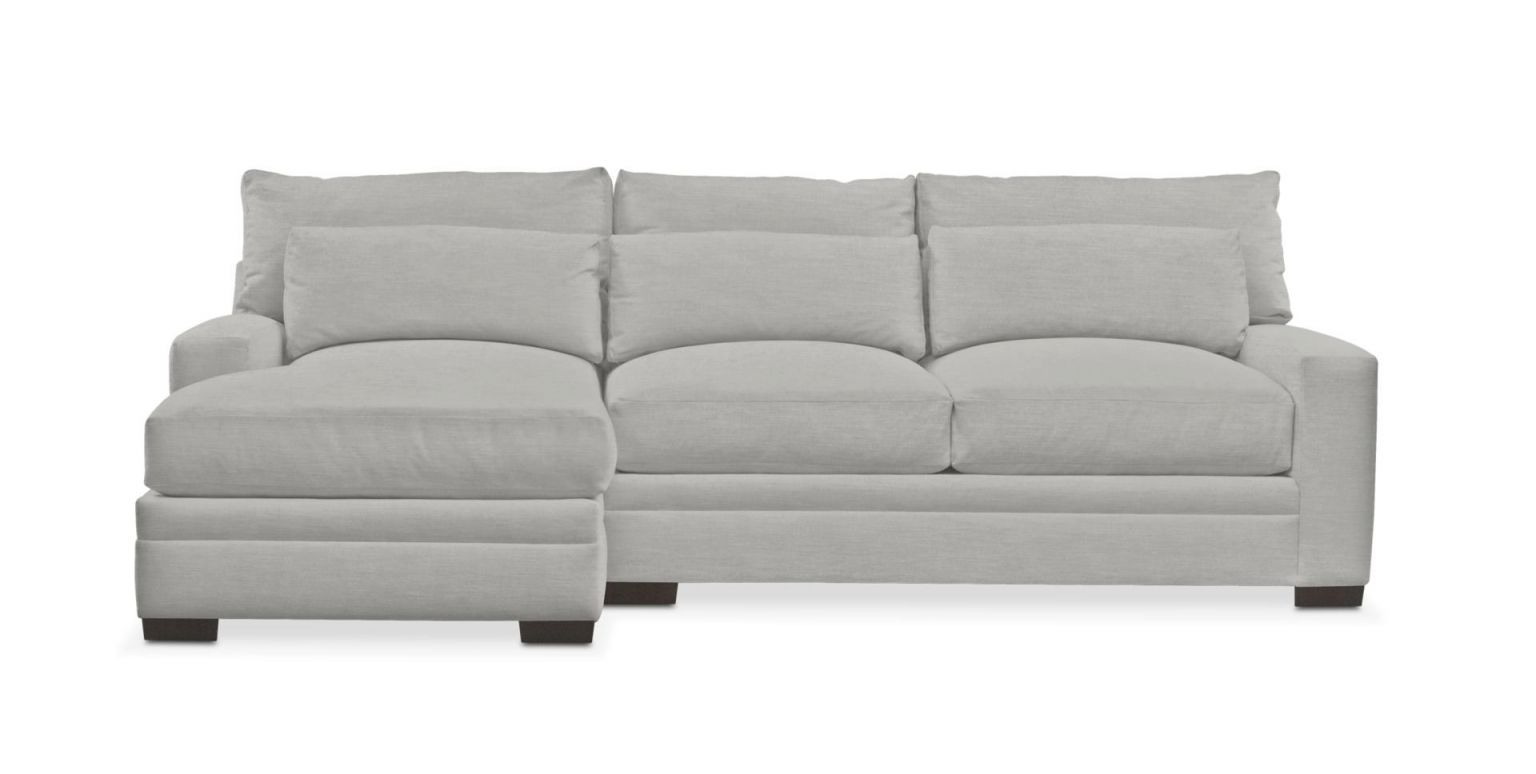 Winston 2-Piece Sectional With Chaise inside 2 Piece Sectional With Chaise