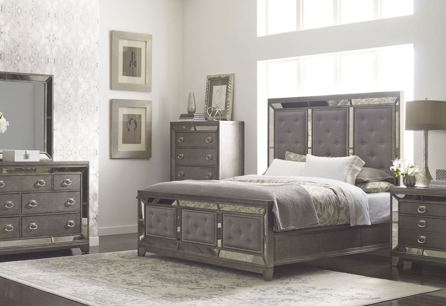 Winston Queen Bedroom Set with regard to Queen Size Bedroom Furniture Sets