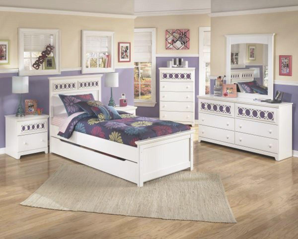 Zoe Twin Bedroom Set within Twin Bedroom Furniture Set